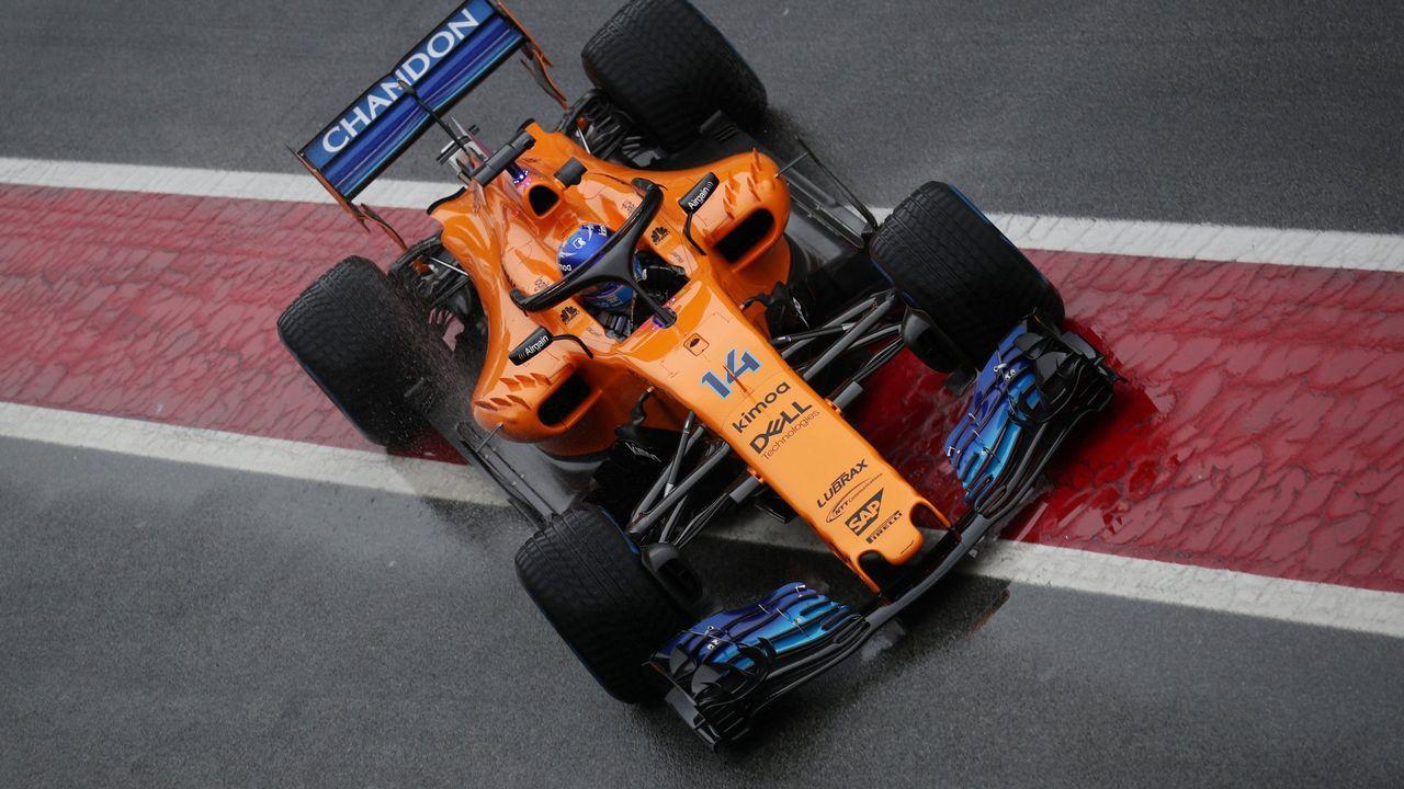 La falta de resultados propició su regreso a McLaren