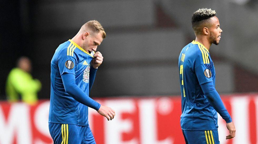 Ajax - Celta, en imágenes