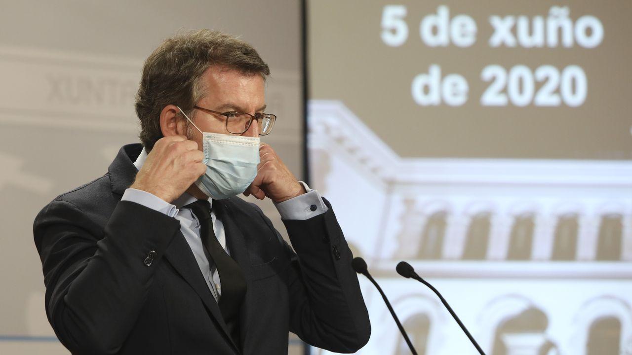 En directo: rueda de prensa de Alberto Núñez Feijoo