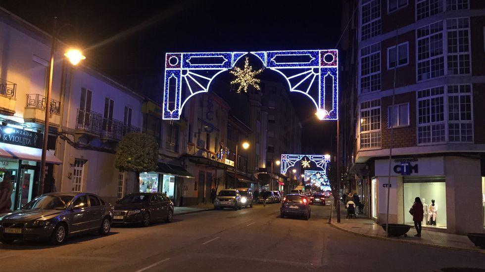 NAVIDAD EN CELANOVA.O Barco ha doblado este año el gasto en alumbrado navideño, hasta superar los 17.000 euros
