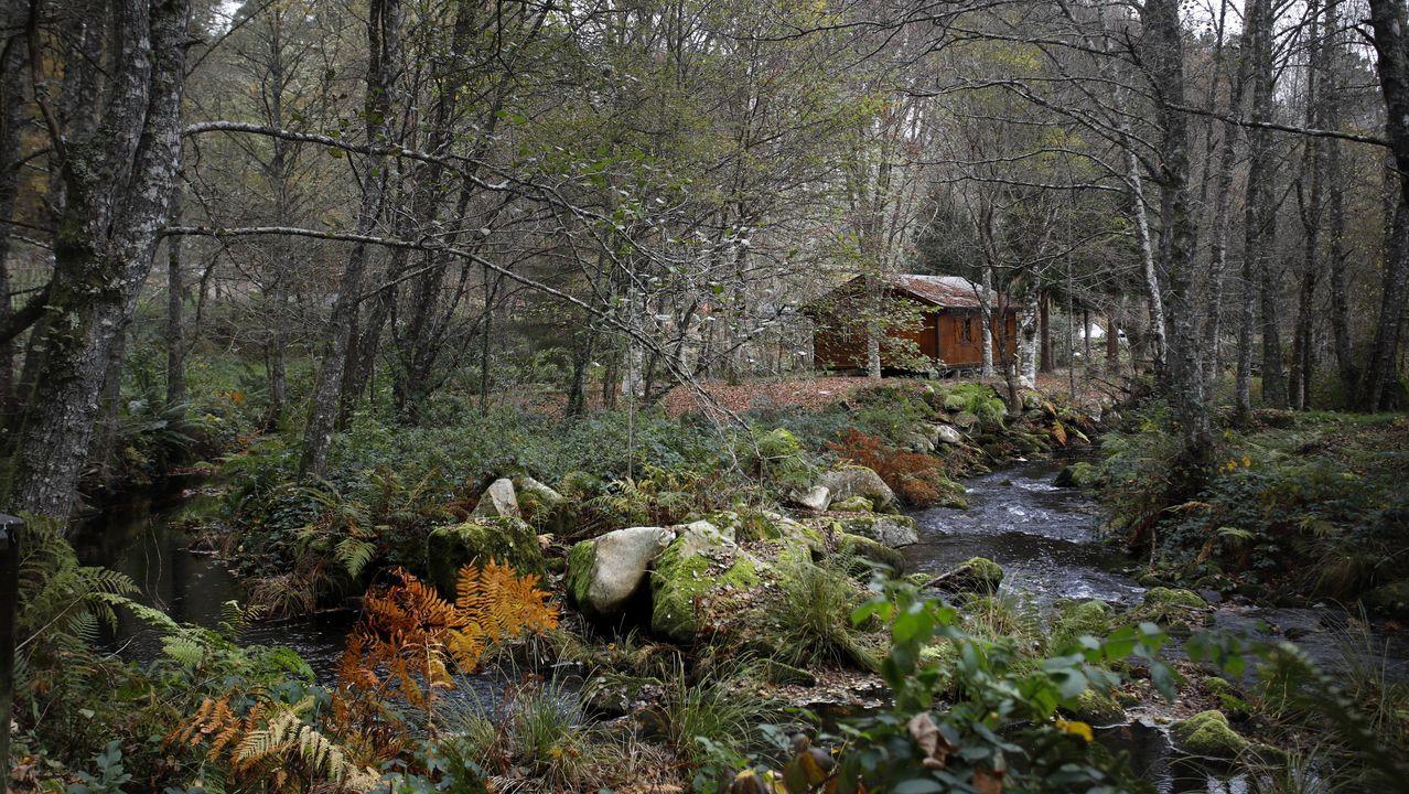 La Ruta das Chousas transcurre a lo largo de poco más de 3 kilómetros y es de gran belleza