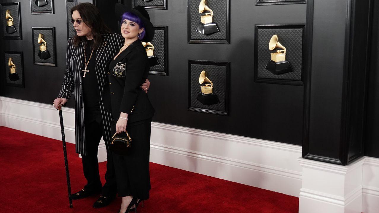 Ozzy Osbourne y su  hija Kelly