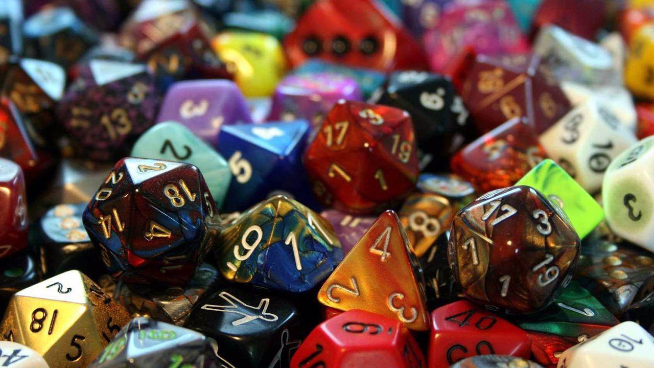 Dados para juegos de rol
