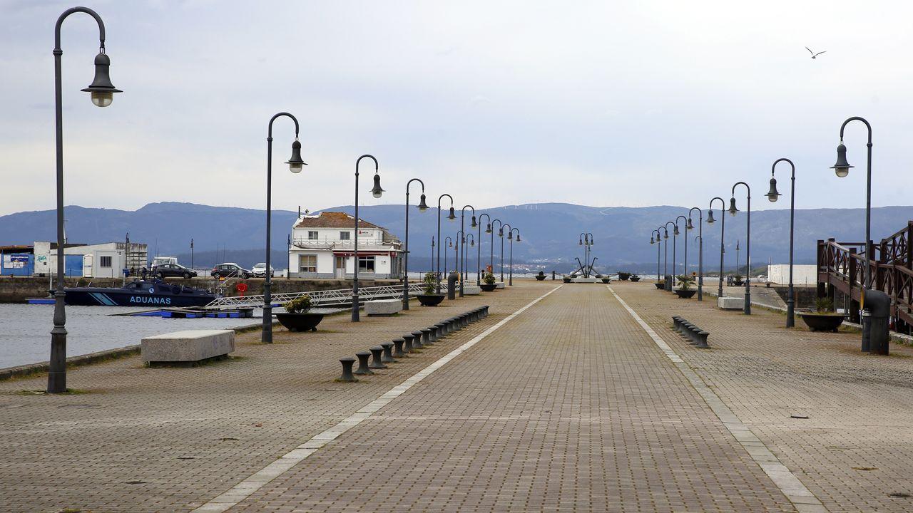 Puerto de Vilagarcía.