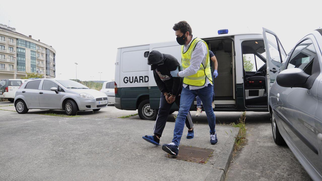 Coche de la Policía Local de Oviedo
