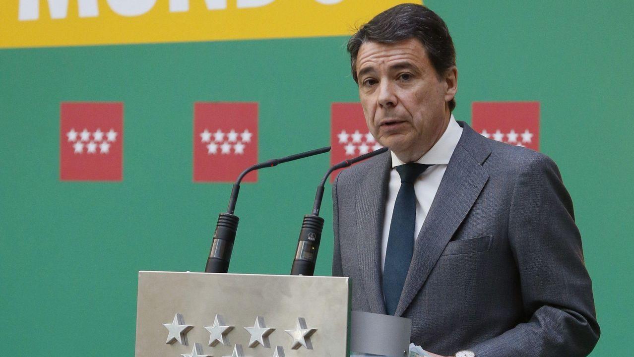 Rajoy retaa la oposición a que presente una moción de censura contra él.Ignacio González, en una imagen de archivo