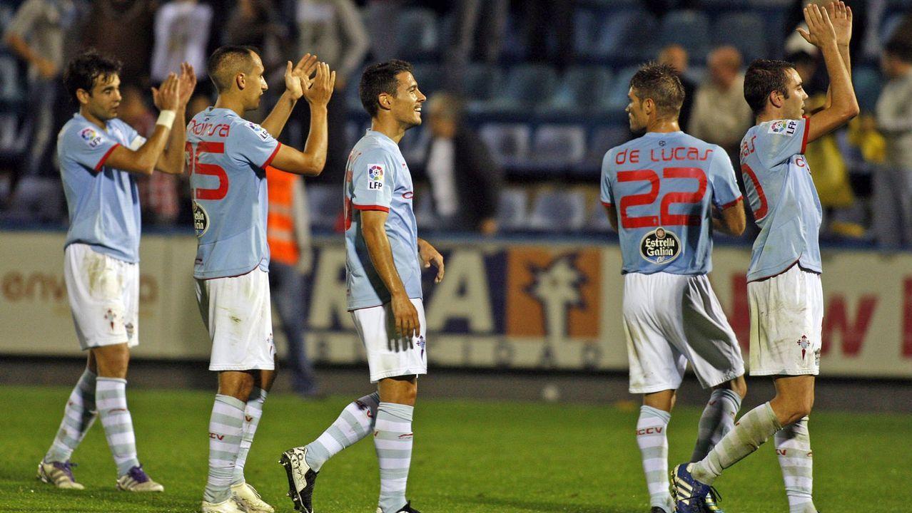 Villarreal B-Celta (2-3) el 30 de octubre del 2011