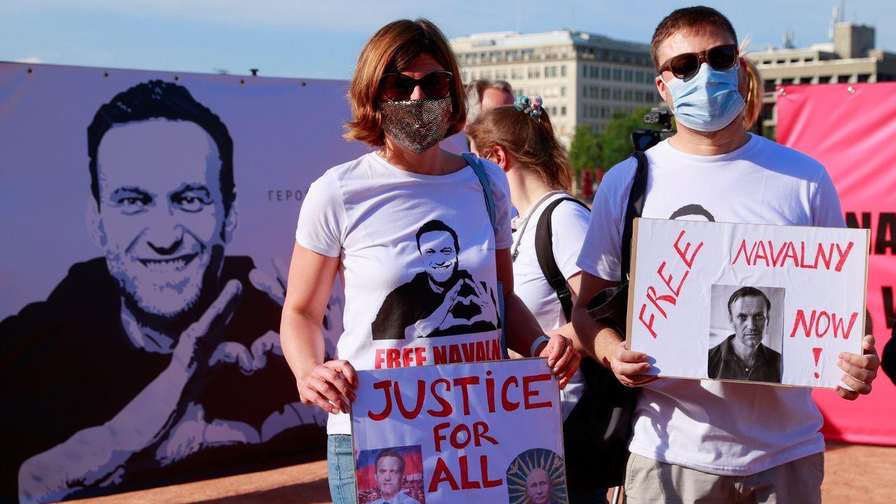 Putin se encontrará en Ginebra con concentraciones de apoyo a Navalni