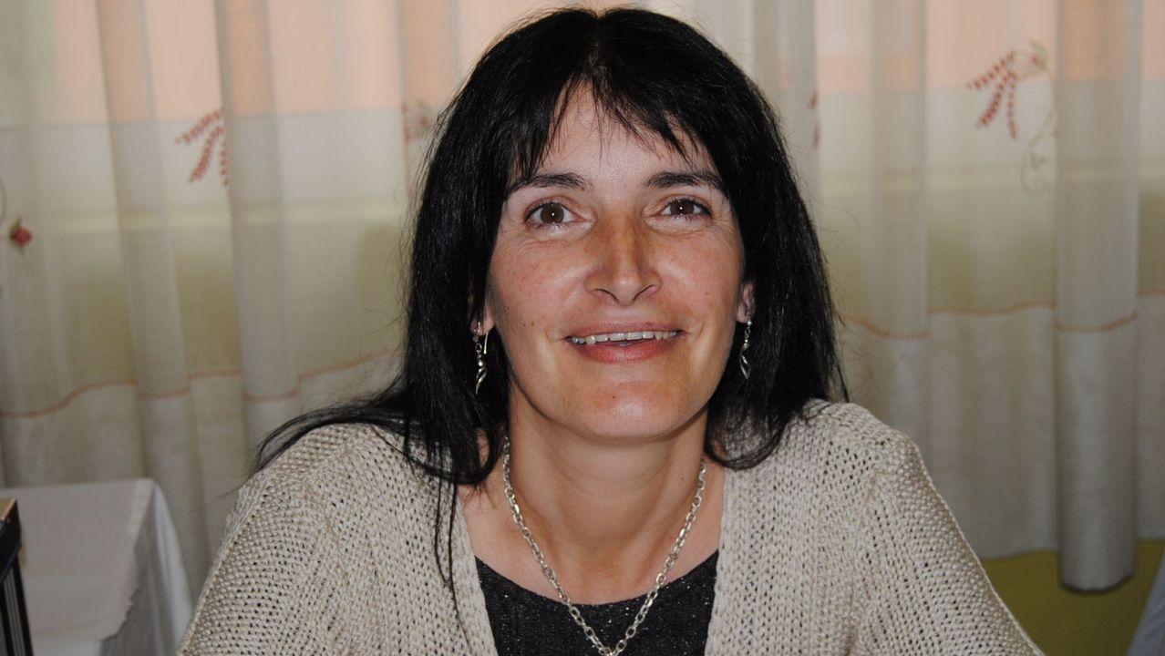Los premios del Ribeiro, en imágenes.Asunción Rodríguez, de la bodega Crego e Monaguillo