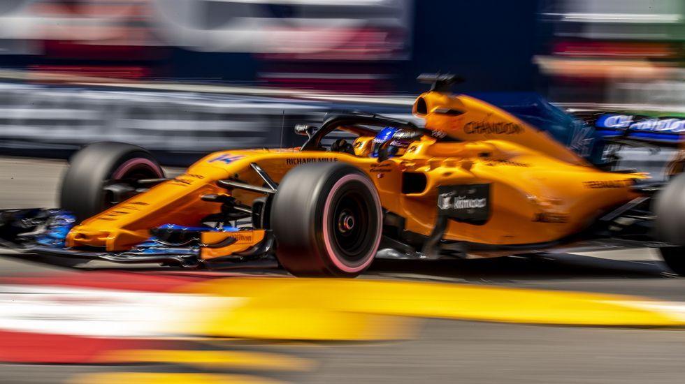 Así es el calendario Pirelli 2019.Fernando Alonso, en Mónaco