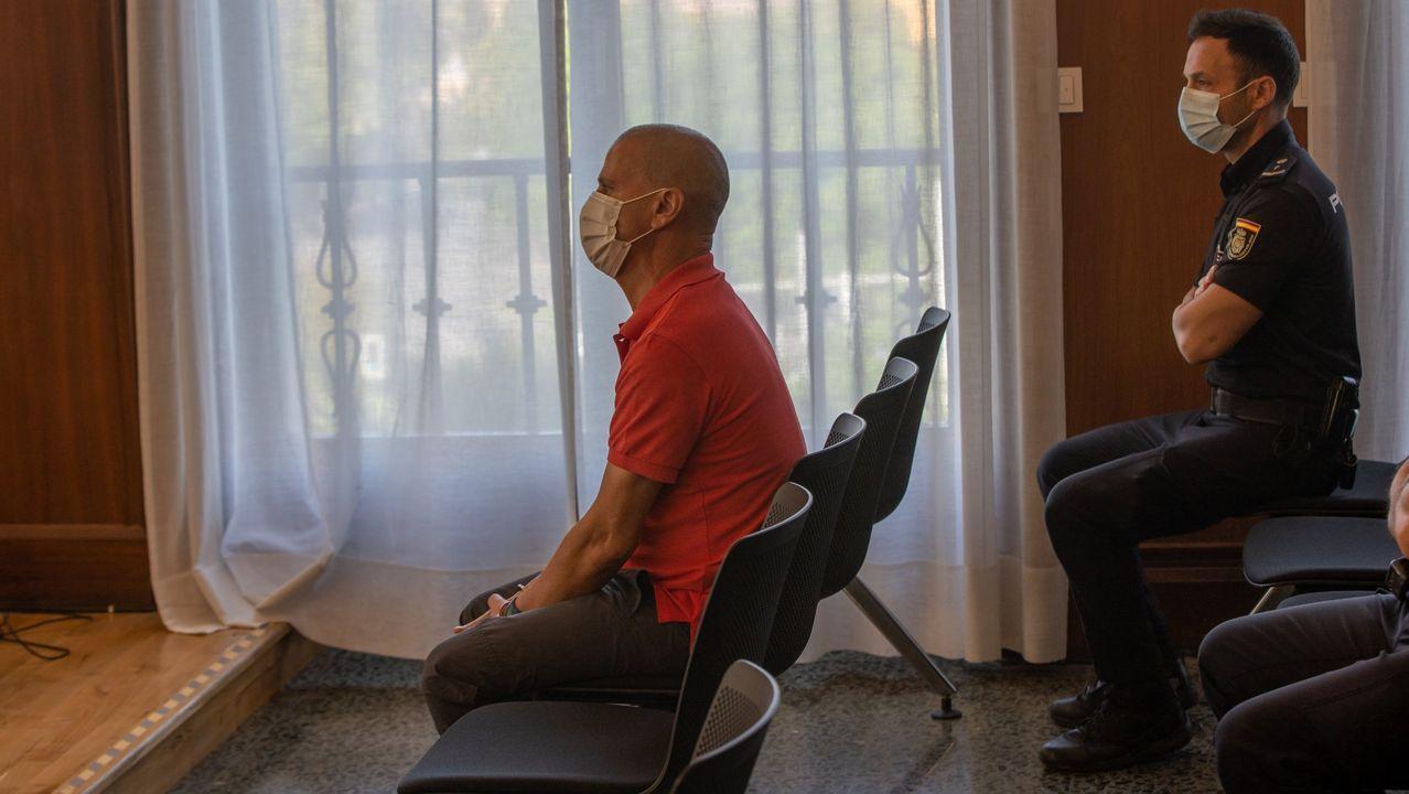 El exconsejero, José Luis Iglesias Riopedre.El loco del chándal en el jucio celebrado en la Audiencia de Sevilla en septiembre del 2020