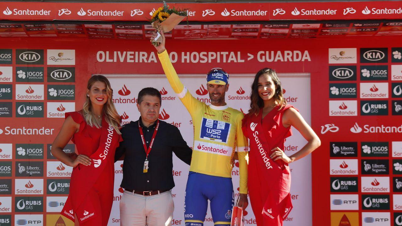 La Volta a Ciclista a Galicia ya tuvo un comienzo y final de etapa en Viveiro, en el año 2007