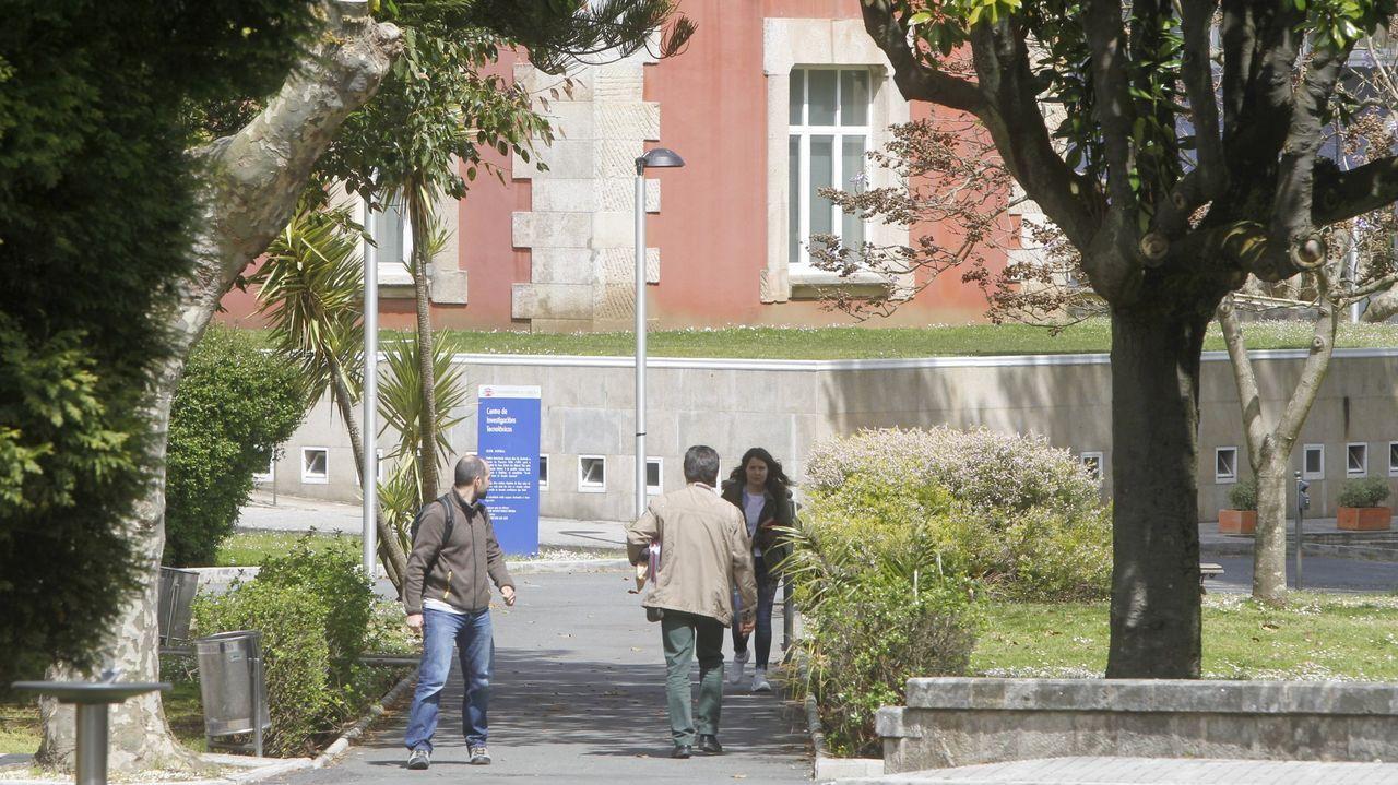 Jornada de bienvenida a los nuevos alumnos en el campus de Ferrol