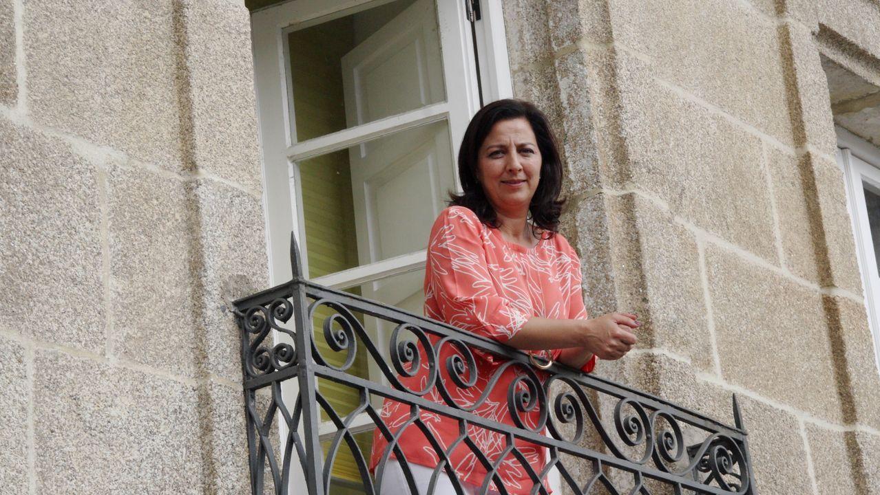 La alcaldesa de Betanzos, María Barral, se reunió esta semana con la UTE de transporte metropolitano
