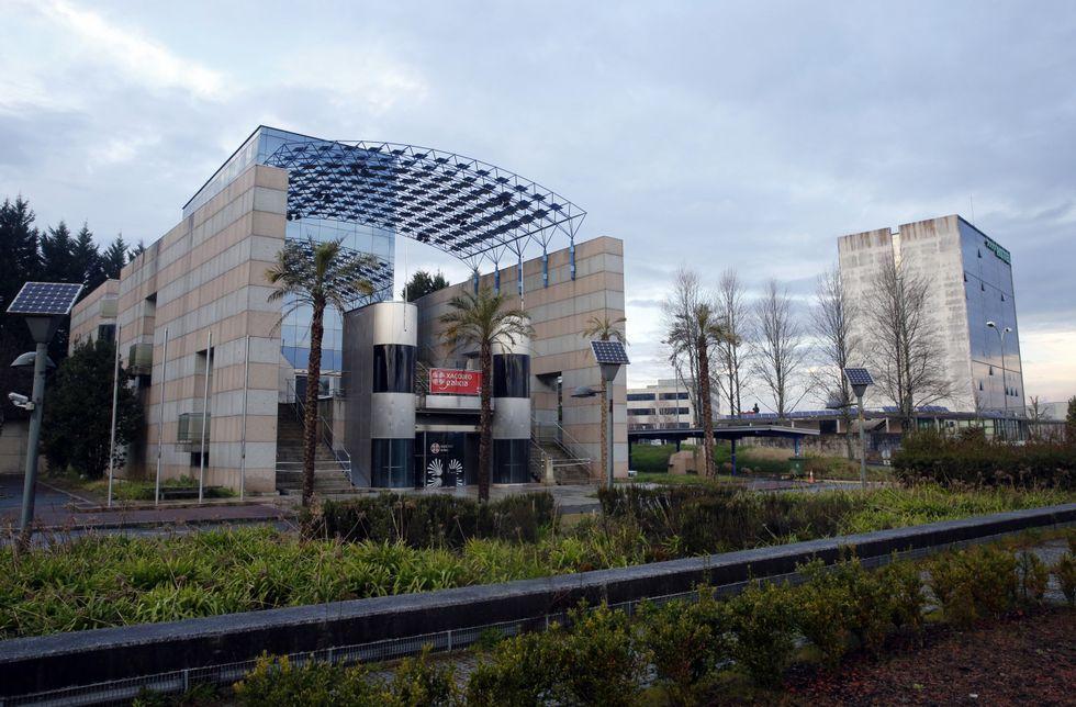 El pabellón de Galicia lleva varios meses sin uso, tras el traslado del Xacobeo a A Barcia.