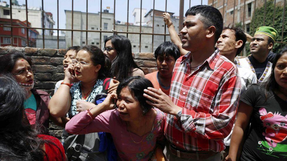 Tensión en las calles de Nepal.