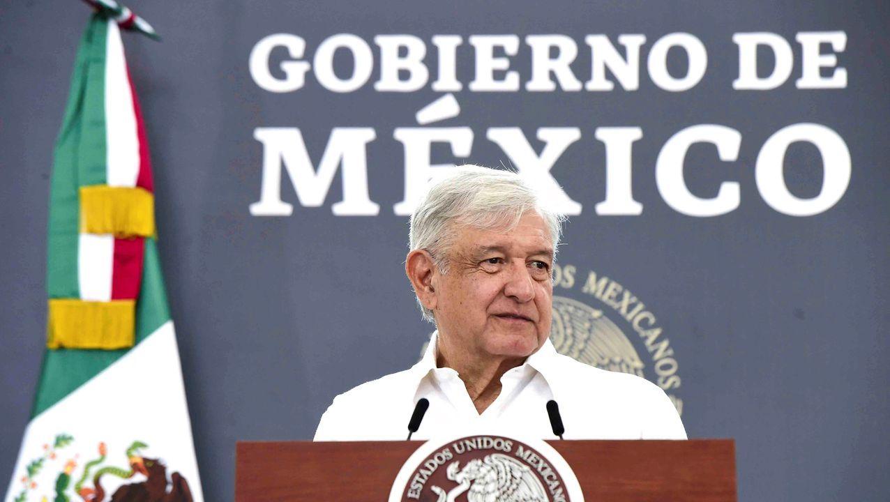 El presidente mexicano, Andres Manuel López Obrador