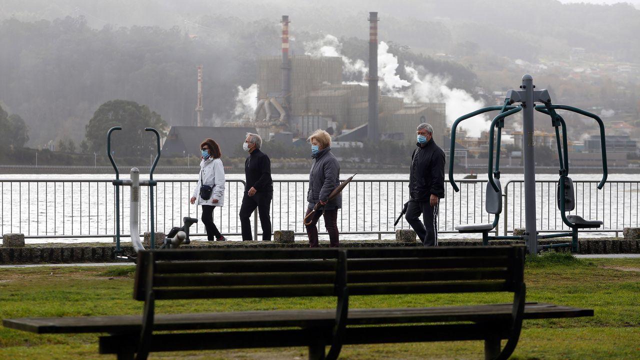 Un grupo de celadoras de Montecelo denunciaron que se habia vacunado contra el covid a trabajadores que no eran de primera línea