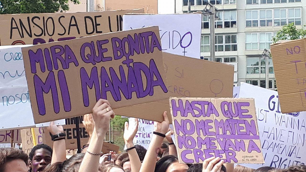 En directo, el caso de la Manada en el Supremo.Isabel Carrera, directora del máster de Igualdad de la Universidad de Oviedo