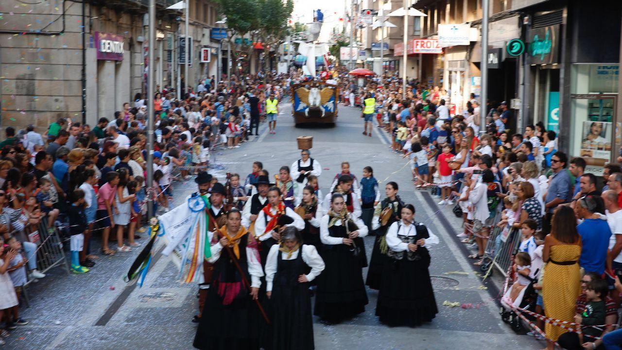 Batalla de Flores en Pontevedra