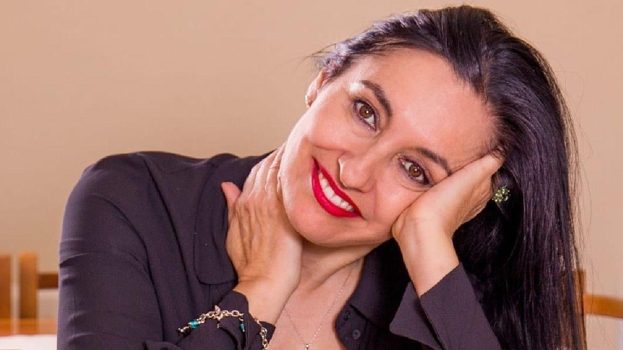 Mayte Rodríguez, natural de la parroquia de Piño, vive y trabaja en Madrid