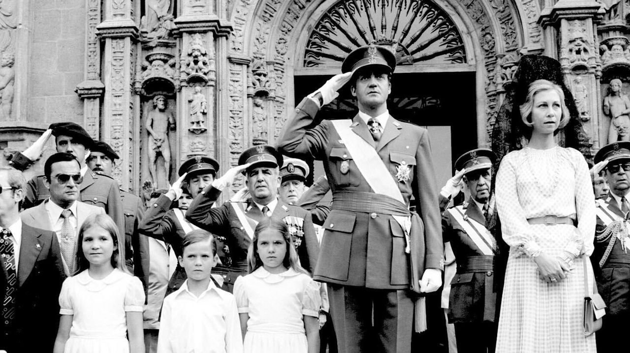 Juan Carlos I, una vida en imágenes