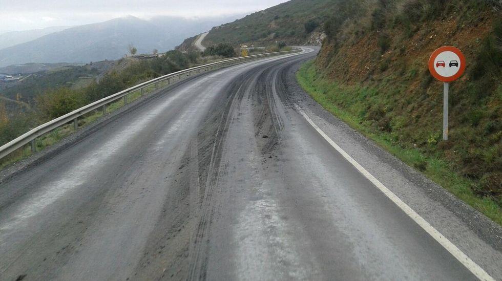 Imagen de la carretera de Casaio