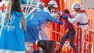 Imagen de otro rescate en Canarias