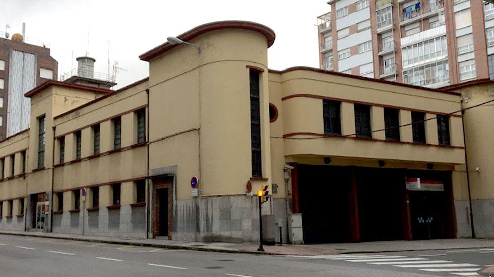 Edificio de la Policía Local en Gijon