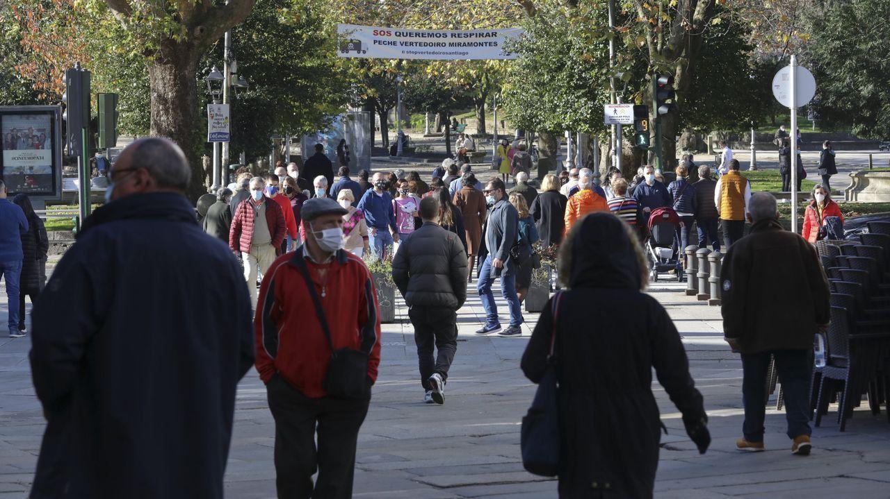 Fiesta de la Coca en Redondela.La renta media por hogar creció en la capital gallega más de 2.200 euros en solo cuatro años