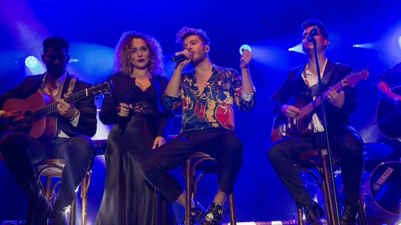 Blas Cantó se encargó del concierto central el año pasado