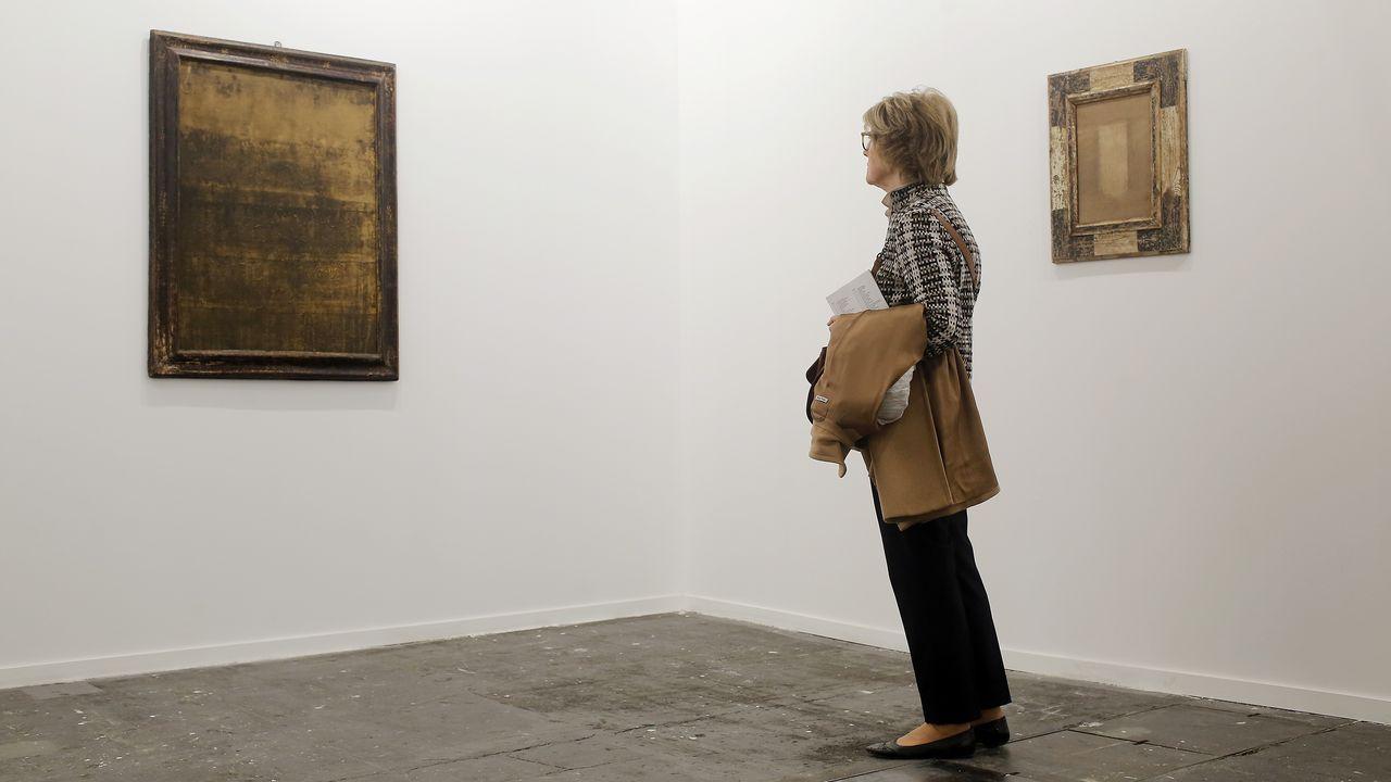 Obra reciente de Álvaro Negro, creador de Lalín, en la galería F2, donde también tiene una exposición individual