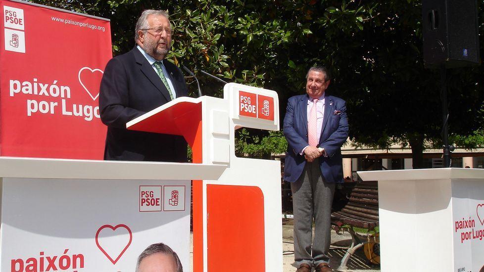 Paco Vázquez, que no apoya al PSOE de A Coruña, sí respalda al de Lugo. Y a su candidato José López Orozco