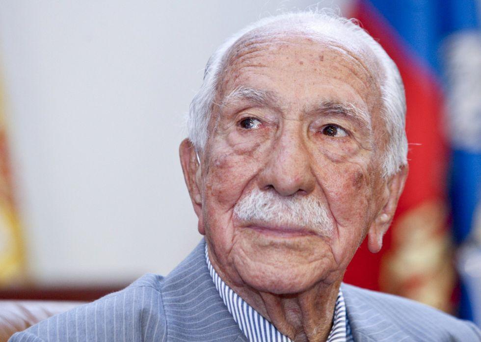 Darío Rivas Cando el día que recibió la placa de honor de la provincia de Lugo el año pasado.