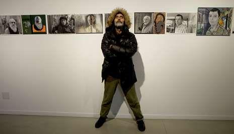 La exposición de Antonio Nodar estará abierta en A Coruña hasta el próximo 25 de enero.