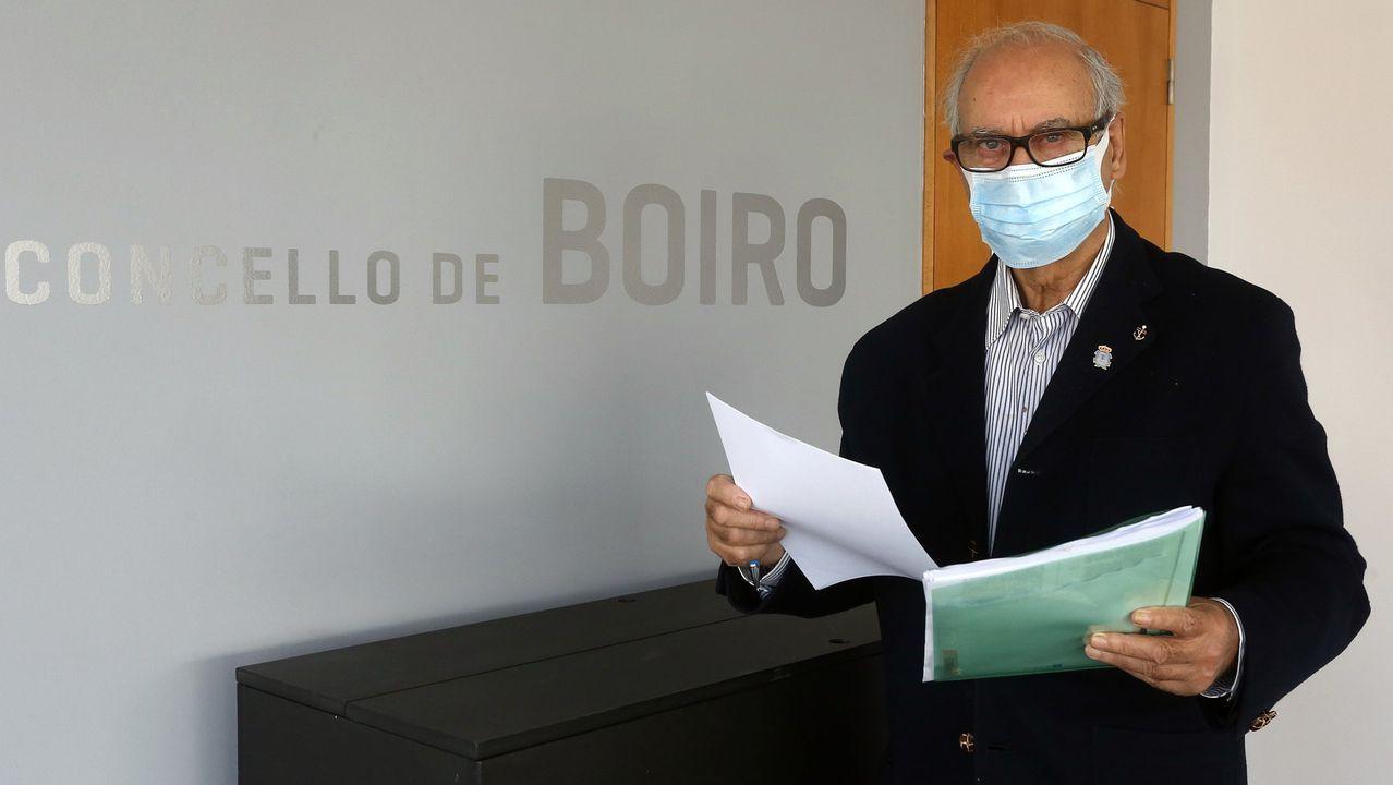 Manuel Velo registró este fin de semana su renuncia como concejal de Boiro