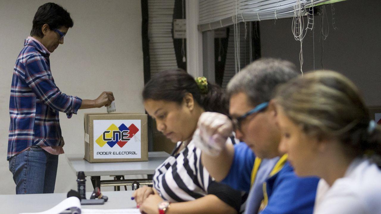 Maduro presidió este viernes un acto militar en Caracas