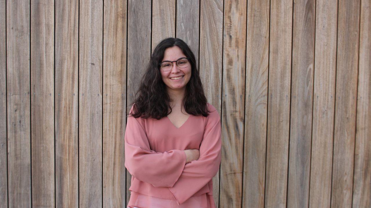 Marina Redondo, la joven andaluza diseñadora del cartel de la Festa da Istoria 2020