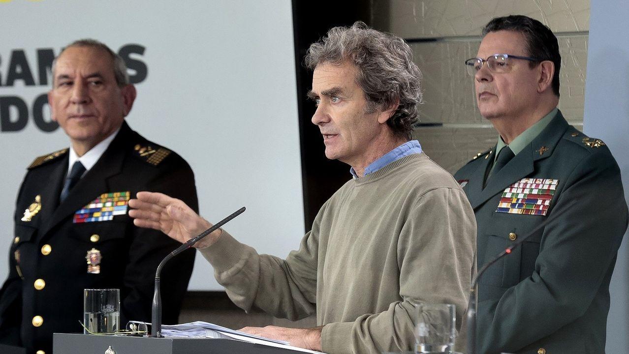 En directo: comparecencia de Fernando Simón sobre la evolución del coronavirus en España.La mujer, de 35 años, fue asesinada en su domicilio en la localidad castellonense de Almazora