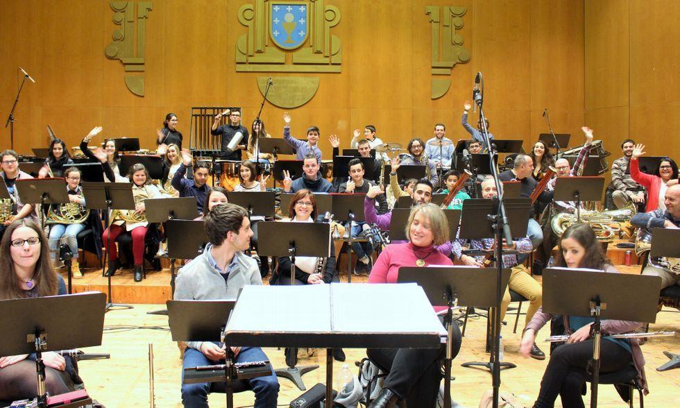 El disco de la banda se grabó a finales de febrero en el Auditorio de Galicia, en Santiago.
