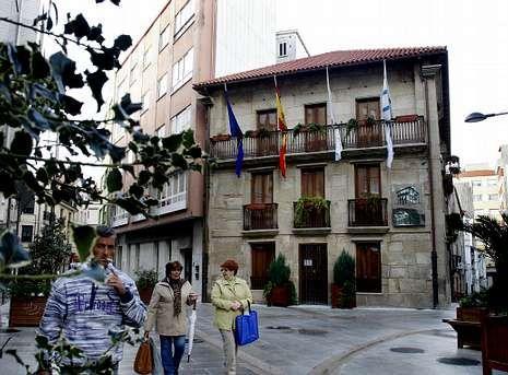 Imagen de archivo de la casa de doña Adela, en el año 2011, una vez que se convirtió en el museo municipal de Ribeira.