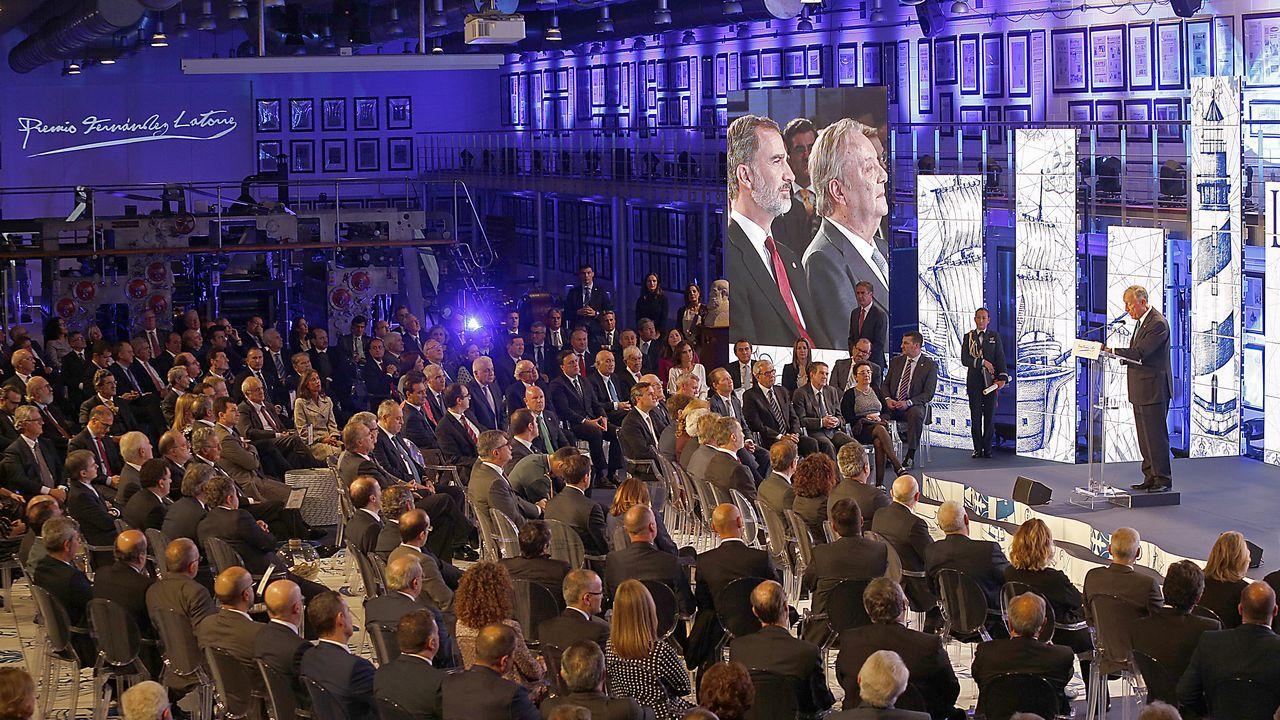 Vista general de la entrega del Premio Fernández Latorre