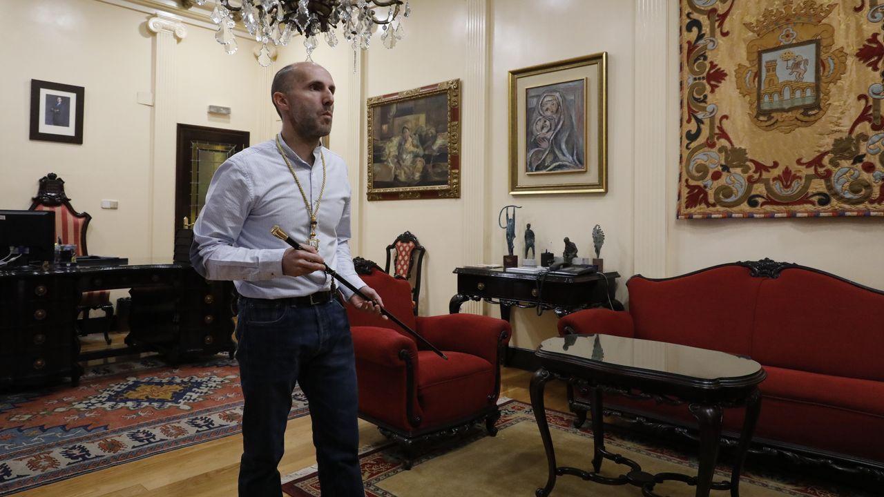 La investidurade Ourense, enimágenes