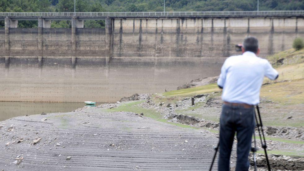El embalse de Vilasouto acumula en estos momentos tres hectómetros cúbicos de agua, el 17% de su capacidad total