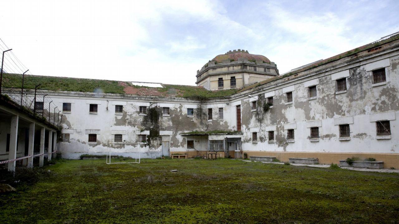 Vistas de la antigua carcel provincial de A Coruña, clausurada desde el 2009