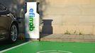 Nuevo punto de recarga de vehículos eléctricos ubicado en el campus de Pontevedra
