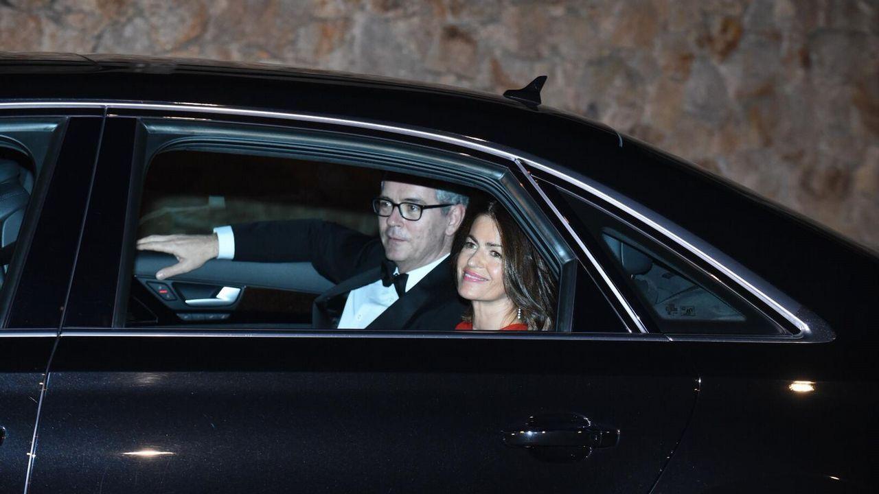 Pablo Isla y su esposa