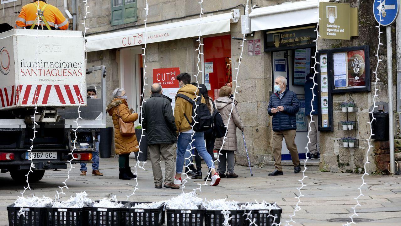 Así se ha decorado Vigo por Navidad.Reyes Magos en Malpica, en el 2019
