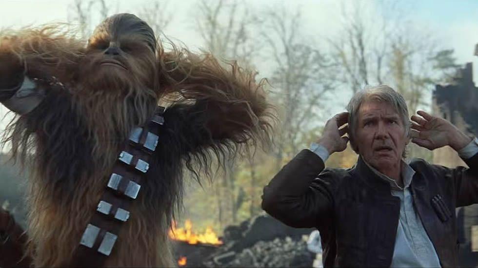 «Star Wars 7, el despertar de la fuerza»,tráiler en inglés