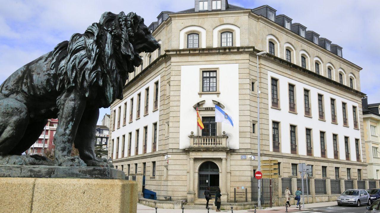 Fachada de la Audiencia Provincial de Lugo